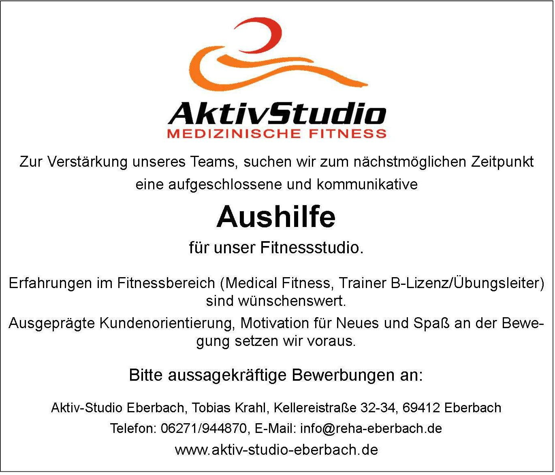 Stellenangebot Aktiv Studio